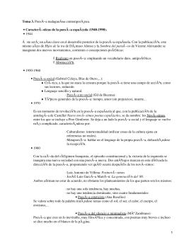 Poesía Malagueña contemporánea