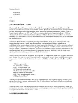 Fernando Savater Alumno a Alumno b B 1º