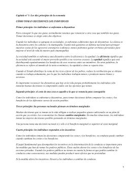Principios de economía; N. Gregory Mankiw