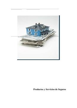 Productos y servicios de seguros