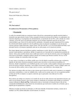 Radiofrecuencias argentinas