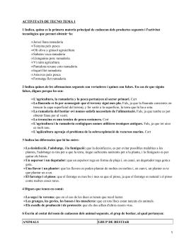 ACTIVITATS DE TECNO TEMA 1