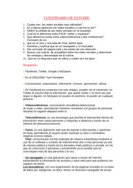 CUESTINARIO DE ESTUDIO