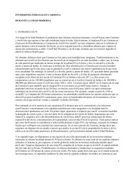 Relaciones comerciales entre Carmona y América