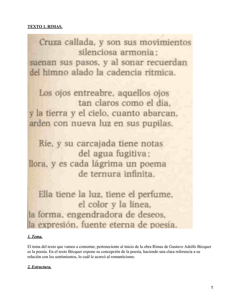 Rimas Gustavo Adolfo Béquer