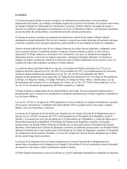 Sistema judicial dominicano