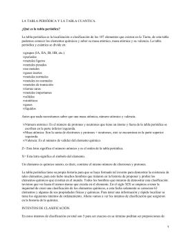 Tabla peridica conceptos y definiciones tabla peridica y cuntica de los elementos qumicos urtaz Image collections