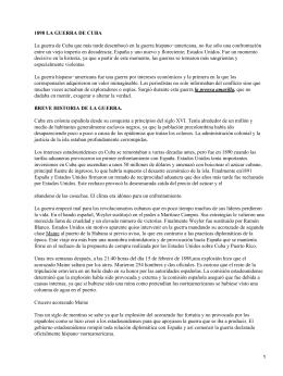 Teoría de la comunicación: 1898, la guerra de Cuba