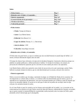 Índice Ficha técnica ......... Pág. 2