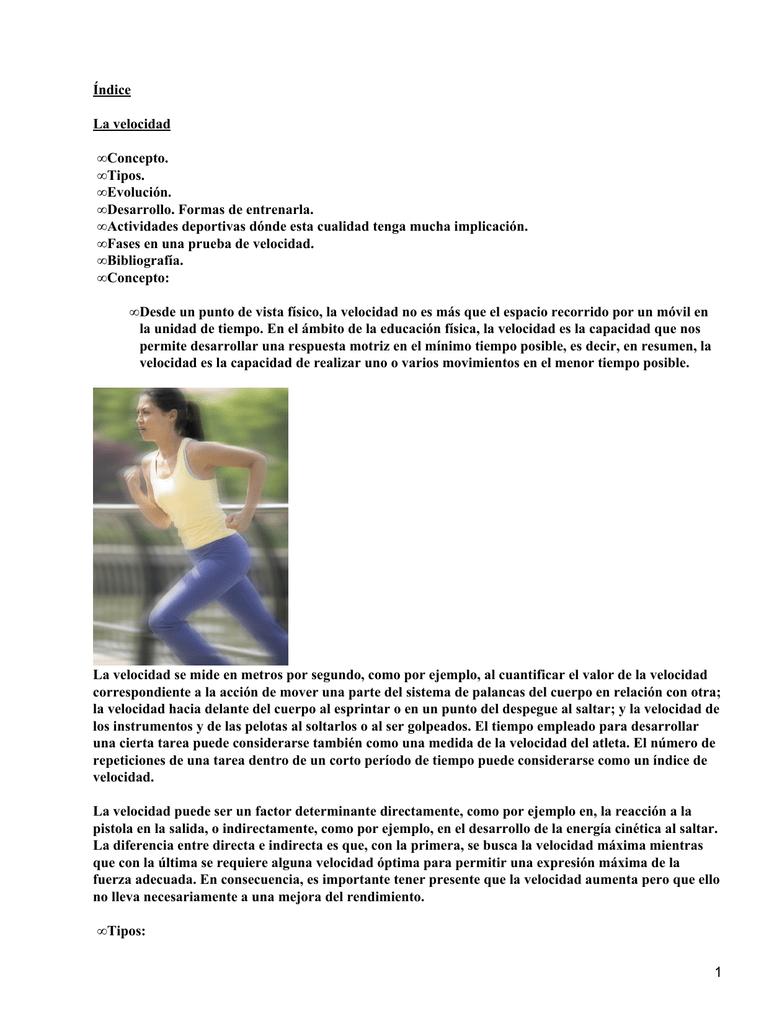 Velocidad gestual educacion fisica wikipedia