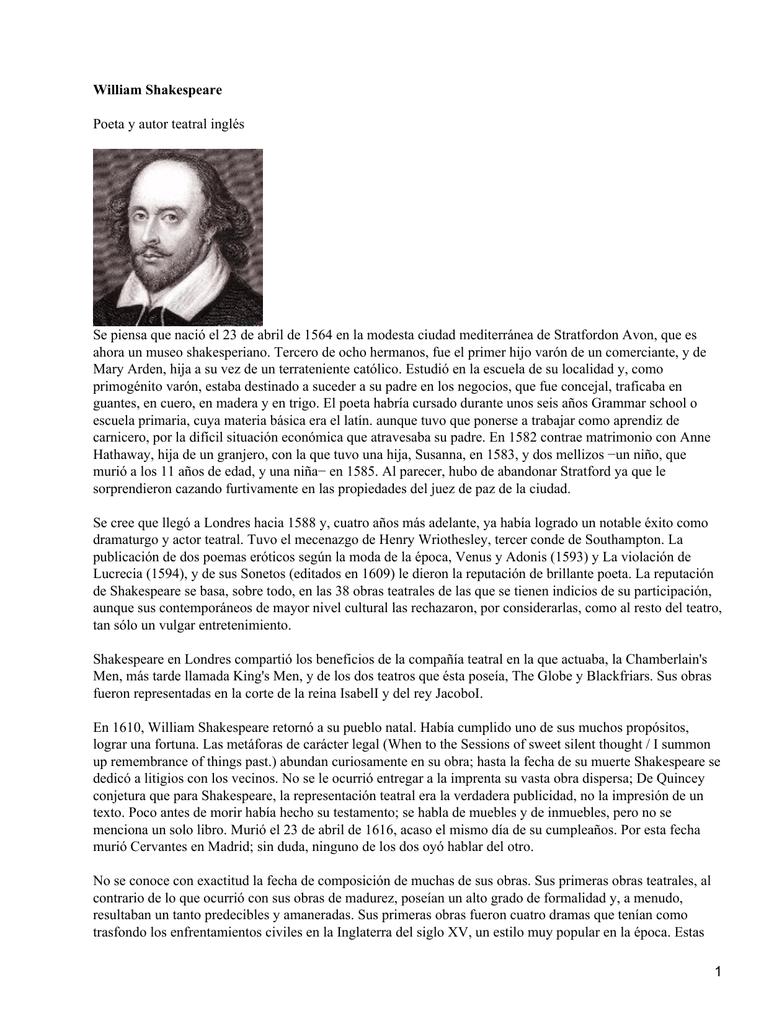 Poesía de William Shakespeare / William Shakespeare; edición de Ramón García González