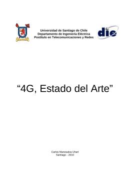 4G Estado del Arte