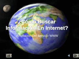 Ampliación del WWW (World Wide Web)