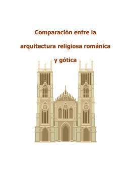 Arquitectura religiosa románica y gótica