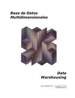 Bases de datos multidimensionales y DataWarehouse
