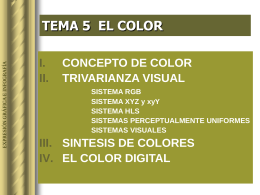 Color en la infografía