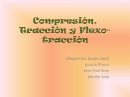 Compresión, tracción y flexo-tracción