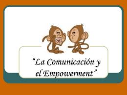 Comunicación y empowerment
