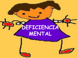 DEFICIENCIA MENTAL