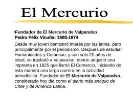Diario El Mercurio de Valparaíso