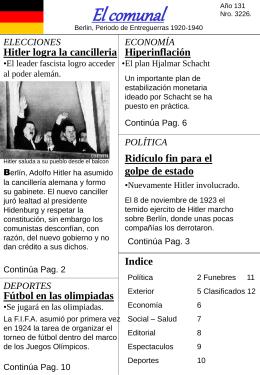 Diario: Creación de un periódico