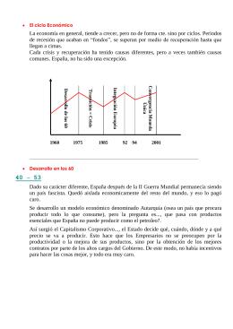 """La economía en general, tiende a crecer, pero no de... de  recesión  que acaban  en  """"fondos"""",..."""