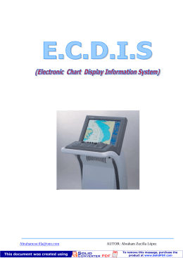 Electronic Chart Display Information System
