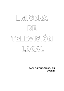 Emisora de televisión local