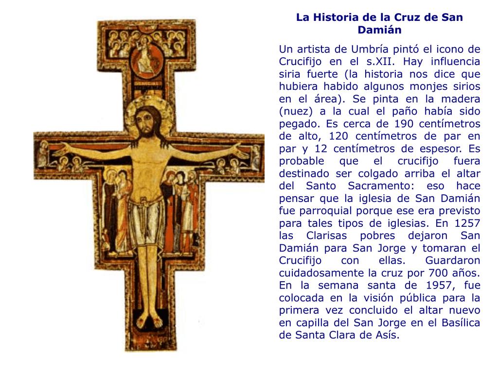 eadb2598b30 Historia de la Cruz de San Damián