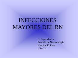 Infecciones mayores del recién nacido