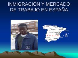 Inmigración en España