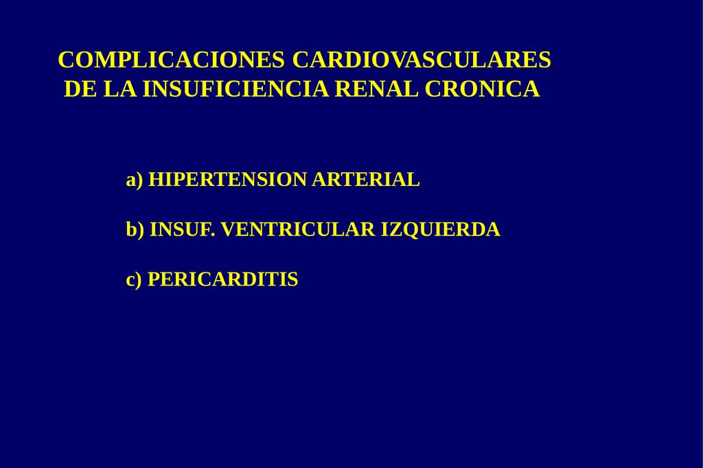 insuficiencia renal hta