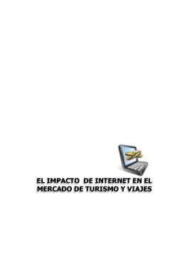 Internet y su impacto en el mercado de Turismo y Viajes