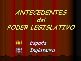 Legislativo español