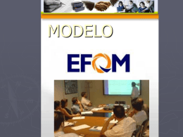 Modelo EFQM (European Foundation for Quaality Management)