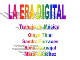 Música en la era digital