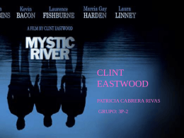 Mystic River; Clint Eastwood