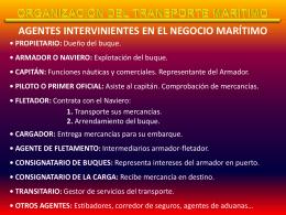 Organización del transporte marítimo