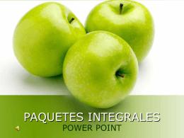 Paquetes integrales