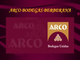 Plan estratégico de Arco Bodegas Berberana