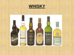 Proceso de elaboración del whisky