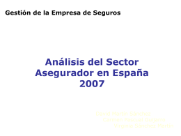 Sector de seguros en España
