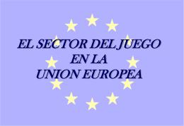 Sector del juego en la Unión Europea