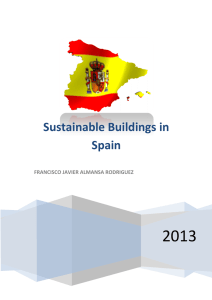 Sustainable Buildings in Spain