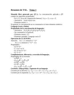 TAL (Teoría De Autómatas Y Lenguajes Formales): Autómatas y Expresiones