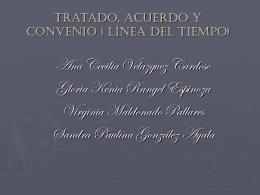 Tratados, Convenios y Acuerdos mexicanos