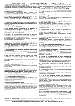 CONVOCATORIA Junio  2009        ... 303