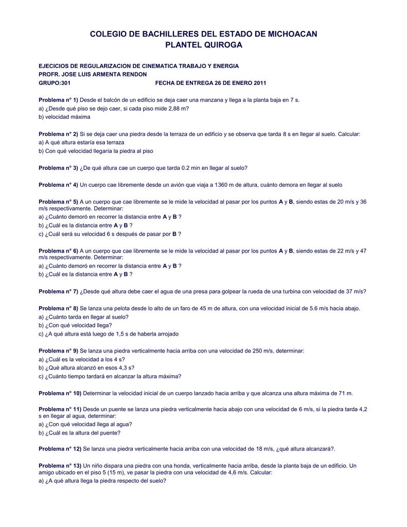 Ejercicios Regularizacion