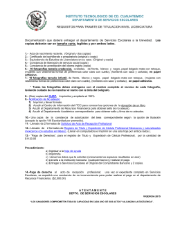 requisitos - instituto tecnologico de cd cuauhtemoc