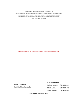 proyecto canaima (amada cecilia)